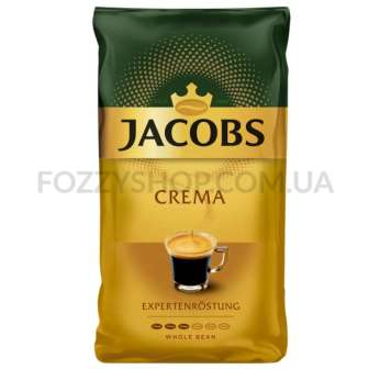Кофе зерно Jacobs Crema 1000г