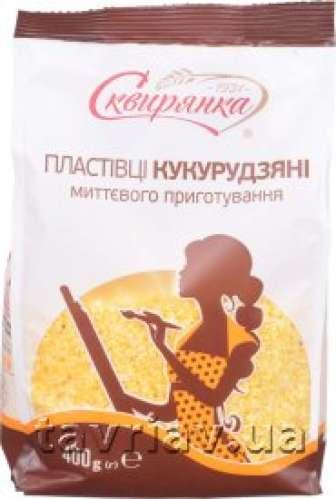 Пластівці Сквирянка 400 г кукурудзяні, що не потребують варіння