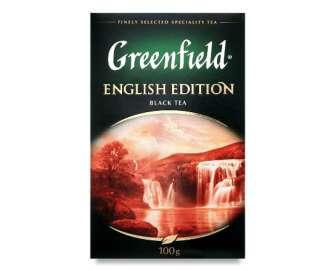 Чай чорний Greenfield EnglishEdition, 100г