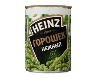 """Горошок Heinz """"Ніжний"""" зелений, 400г"""