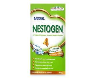 Суміш  Nestle Nestogen 4 суха молочна, 350г