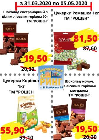 Цукерки, мармелад, шоколад
