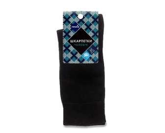 """Шкарпетки чоловічі """"Премія"""" чорні d1, р. 27, пара"""