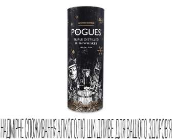 Віскі The Pogues West Cork 40%, 0,7л