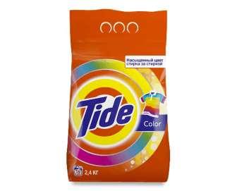 Порошок пральний Tide Color для кольорового і білого автомат, 2,4кг