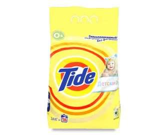 Порошок пральний Tide для чутливої і дитячої шкіри автомат, 2,4кг
