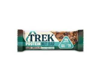 Батончик Trek горіховий протеїн чорний шоколад-морська сіль, 40г