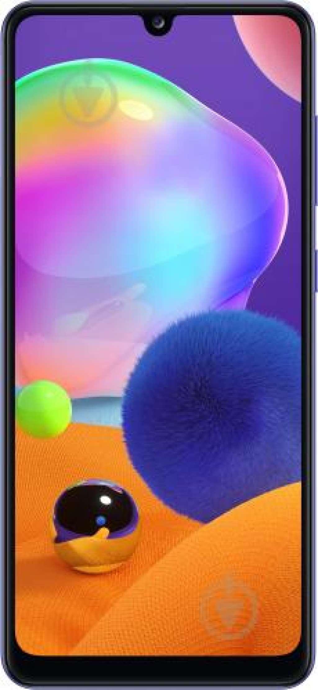"""Смартфон Samsung Galaxy A31 4/64Gb blue:  Кількість модулей основної камери: 4  Кількість ядер: 8  Основна камера: 48 Мп  Оперативна пам'ять: 4 ГБ  Діагональ: 6,4"""""""