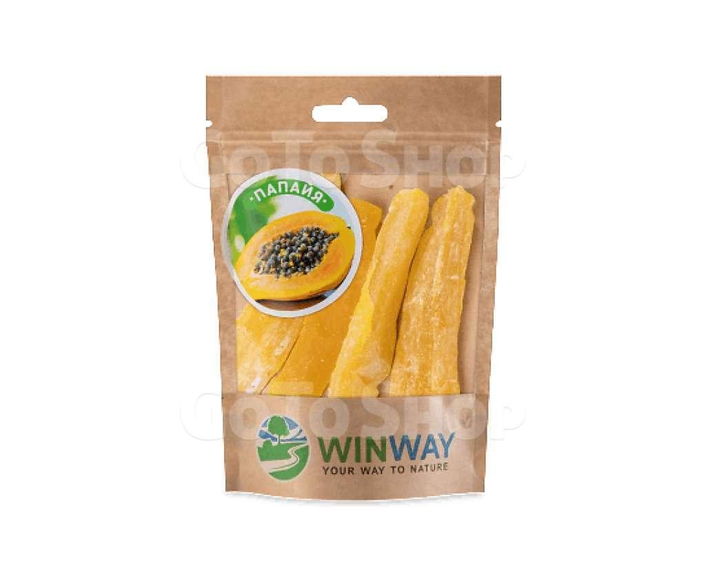 Папая Winway палички сушені, 100г