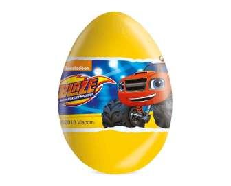 """Яйце шоколадне Nickelodeon """"Вспиш"""" з сюрпризом, 20г"""