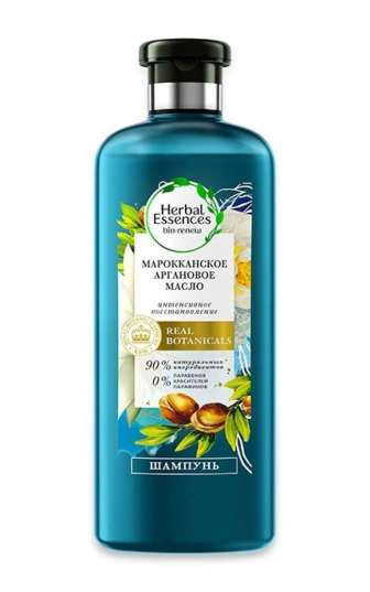 Шампунь Herbal Essences Марокканська арганова олія 400 мл, 400 мл
