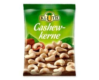 Кеш'ю Kluth ядра горіхів, 200г