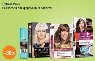 Засоби для фарбування волосся (Фарба для волосся)
