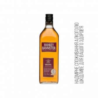 Віскі Blend 40% ТМ Hankey Bannister Шотландія 0,7л