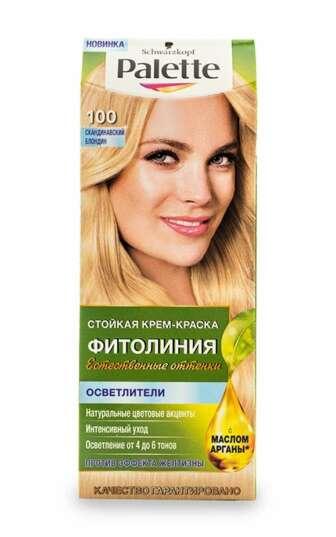 Стійка крем-фарба для волосся Palette Фітолінія Захист та живлення, 1 шт