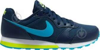 Кросівки Nike NIKE MD RUNNER 2 (GS) 807316-415 р.6,5Y синій:   Категорія: Спортивний стиль     Матеріал верху: поліестер     Стать: дитячі