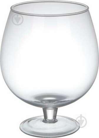 Ваза Spring коньячка 24х19 см прозора скляна Wrzesniak Glassworks:   Бренд: Wrzesniak Glassworks     Вид: настільна     Серія: Карусель     Висота: 24 см
