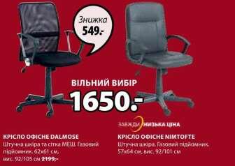 Офісні стільці (Крісла)