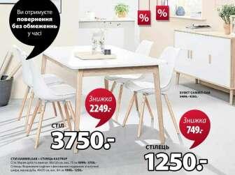 Буфеты и серванты, Кухонные и столовые стулья, Кухонные, обеденные и журнальные столы