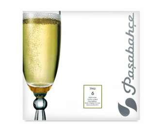 Келихи для шампанського Pasabahce Step 170 мл, 6шт/уп