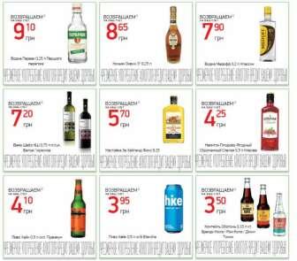 Алкогольные напитки со вкусовыми добавками, Бренди (Коньяк), Вино (Вермут, Шампанское), Водка, Настойки, бальзамы, Пиво, пивные напитки
