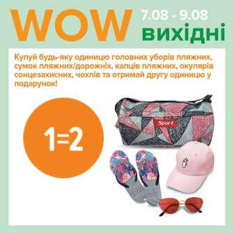 Головні убори, Дорожні сумки, Взуття, Пляжні сумки, Сонцезахисні окуляри