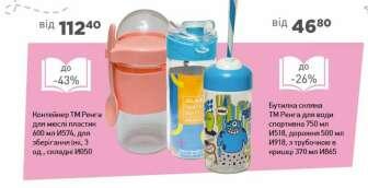 Пляшки для води, Стакани