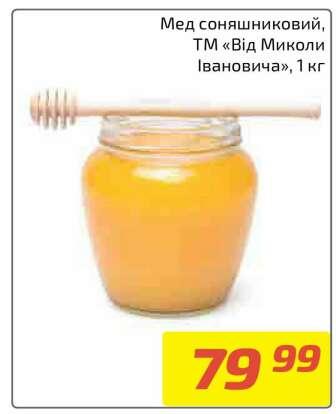 Мед, медові продукти