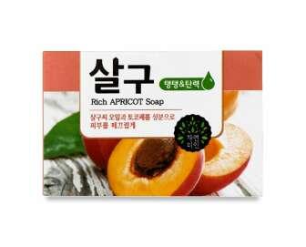Мило для обличчя й тіла Mukunghwa з екстрактом абрикоса, 100г