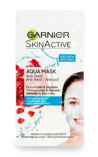 Аква-маска Garnier SkinActive зволожуюча для зневодненої шкіри обличчя, 8 мл
