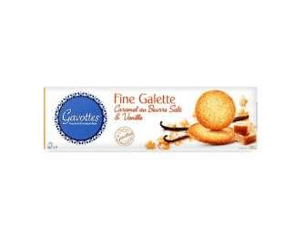 Печиво Gavоttes з солоною карамеллю і ваніллю, 120г