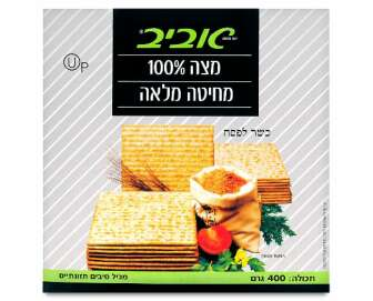 Маца Aviv з цільнозернового борошна кошерна, 400г